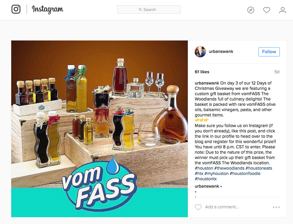 Bernstein-Associates-Vom-Fass-Social-Media-Instagram