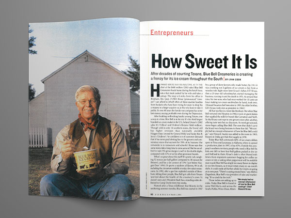 Forbes - How Sweet It Is