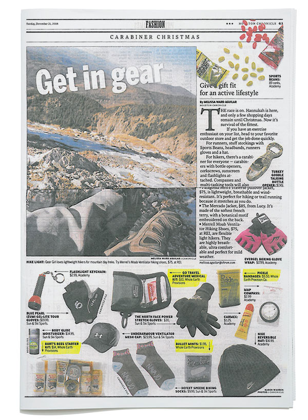 Houston Chronicle - Get in Gear