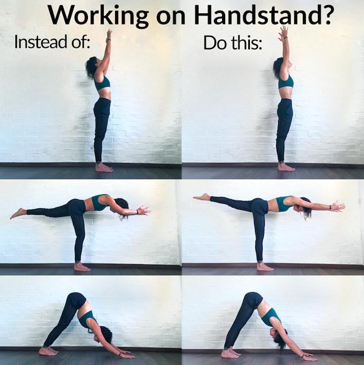 adell bridges handstand