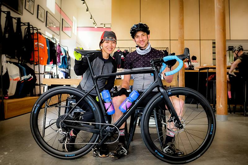 Randall Jacobs and Alice Liu - Founders of innovative bike company Thesis.