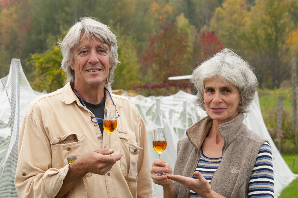 Christian and Louise Barthomeuf, Owners of Clos Saragnat