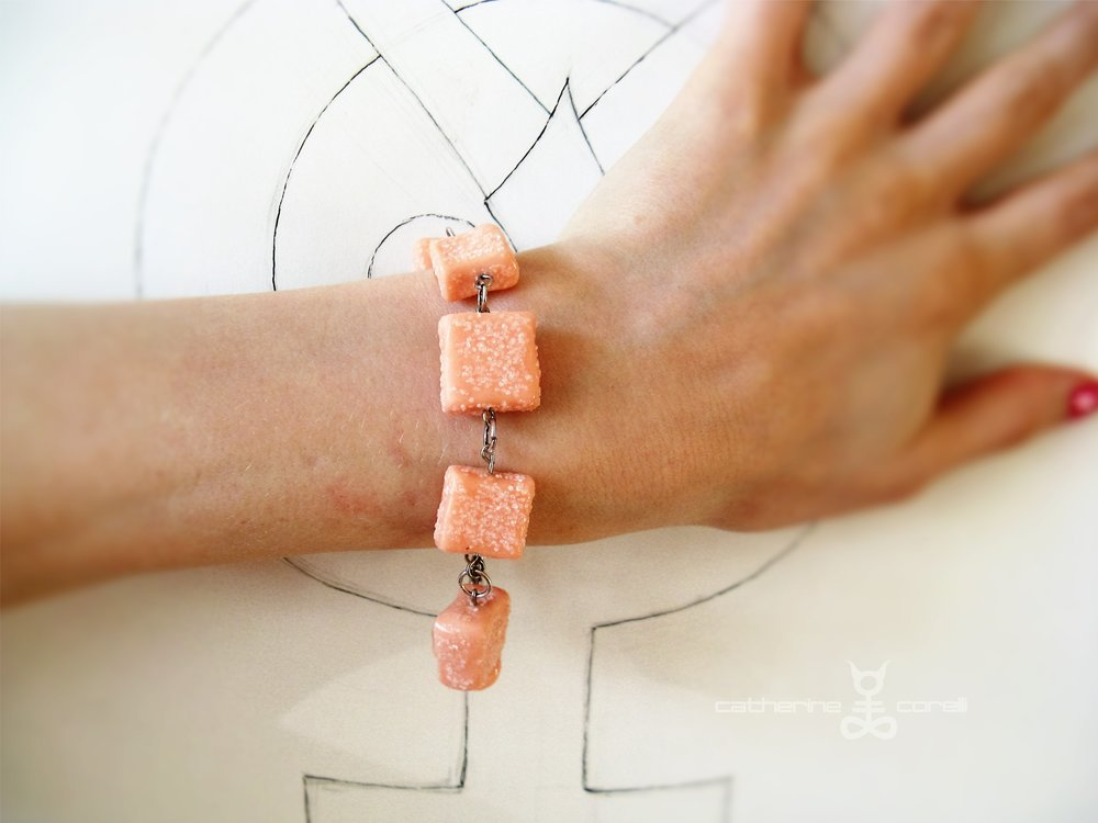 Labri & Cuori Cappucino (2016) bracelet by Catherine Corelli