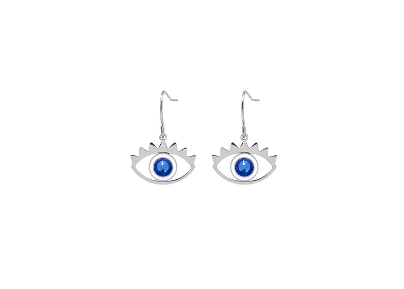 Boucles d oreilles Poppy argentées 8c09bfe81588