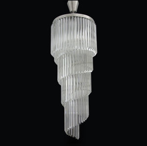 Spiral chandeliers bohemian crystal chandeliers lighting collection spiralis aloadofball Image collections