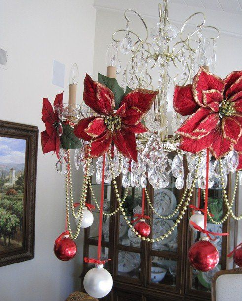 5e1bc5e4fd24a30143b874175a23c195jpg - How To Decorate A Chandelier For Christmas