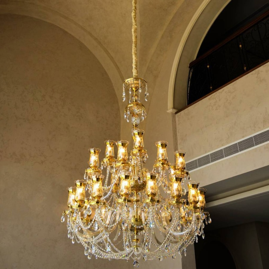 Crystal Chandelier Royal Tulips Dubai Jpg