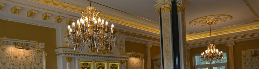 Brass & Antique Chandeliers -