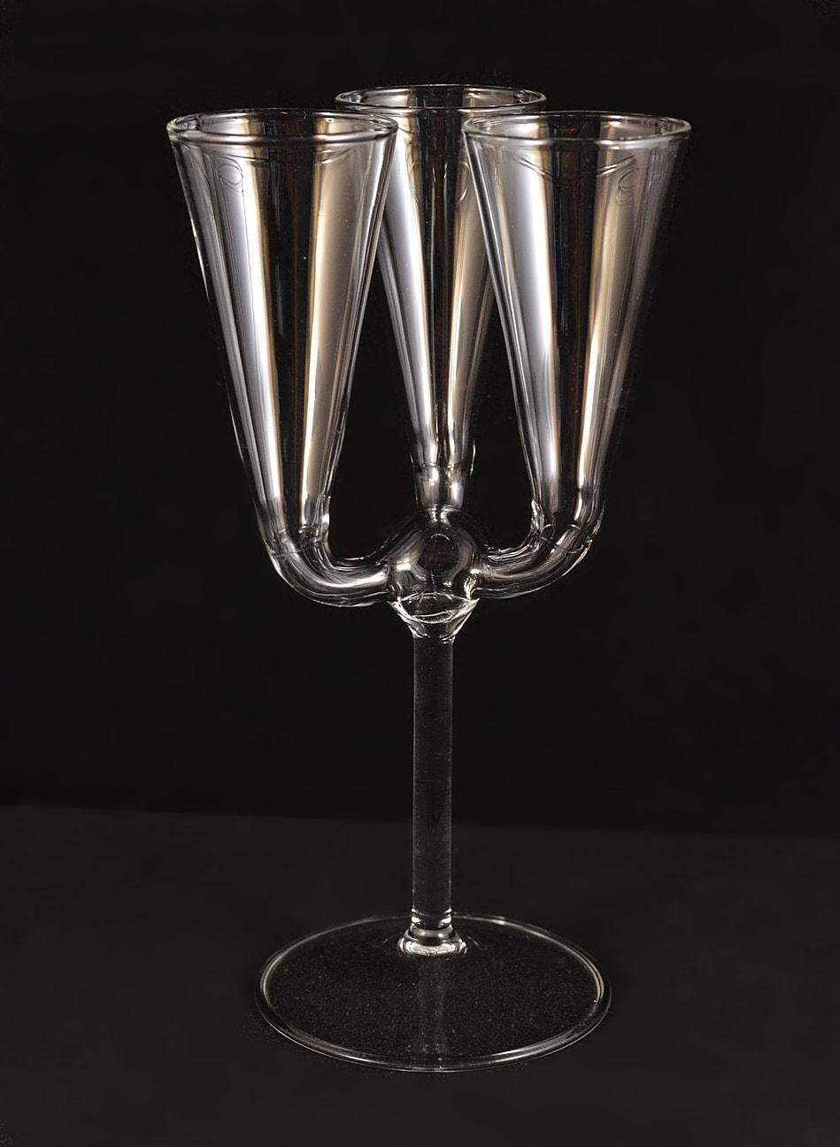 Triple glass