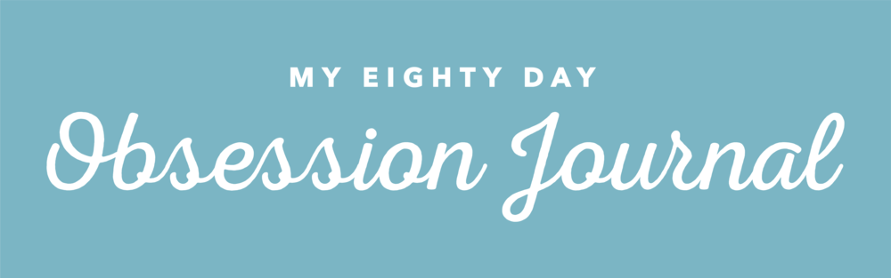 80 Day Obsession Journal