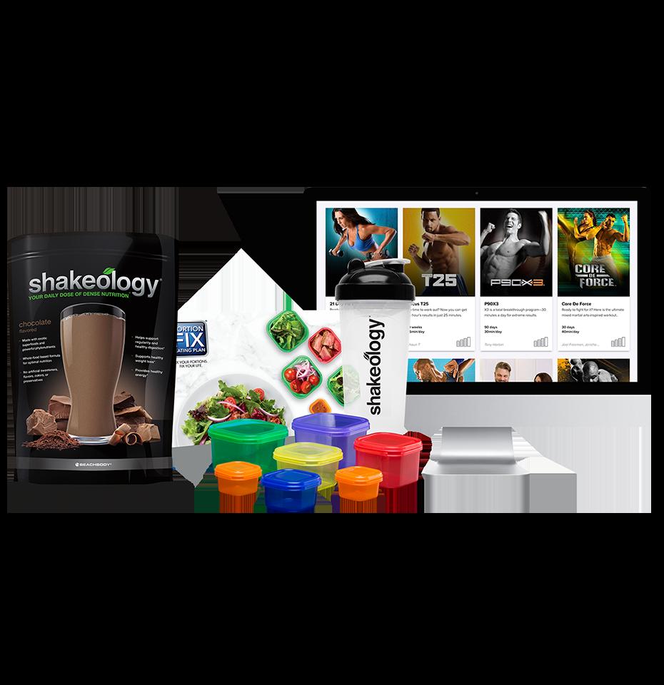 Beachbody® On Demand & Shakeology® Challenge Pack