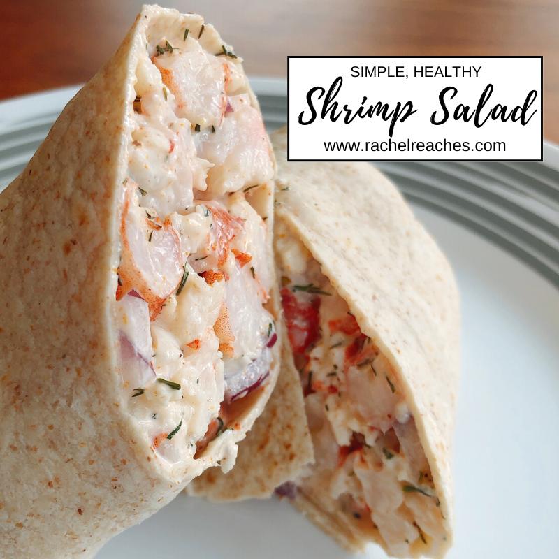 Shrimp Salad Rachel Reaches