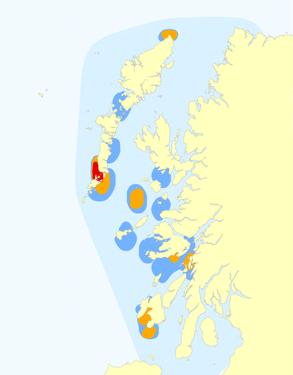 Bottlenose Dolphin Hotspot Map