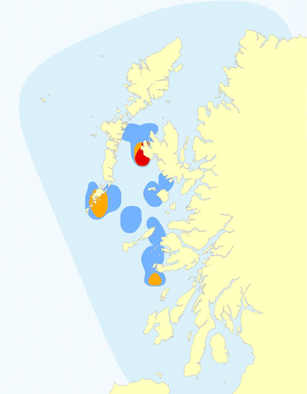 Killer Whale Hotspot Map