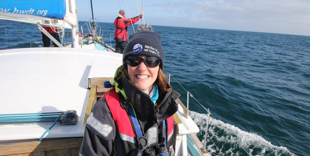 Lauren Hartny-Mills aboard HWDT RV Silurian.JPG