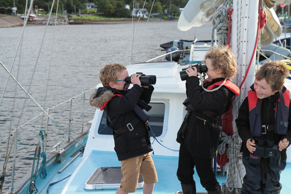 Bringing marine education to life, on board HWDT's floating classroom,  Silurian .