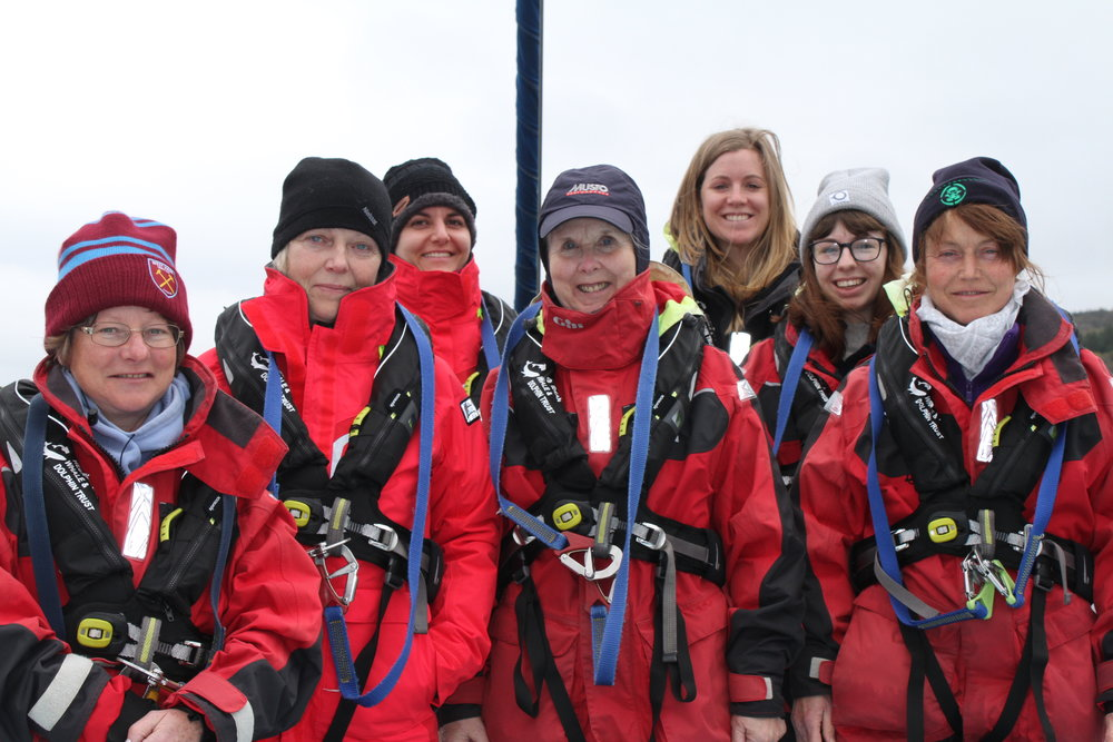 The amazing citizen science team that joined us on board for HWDT 3.