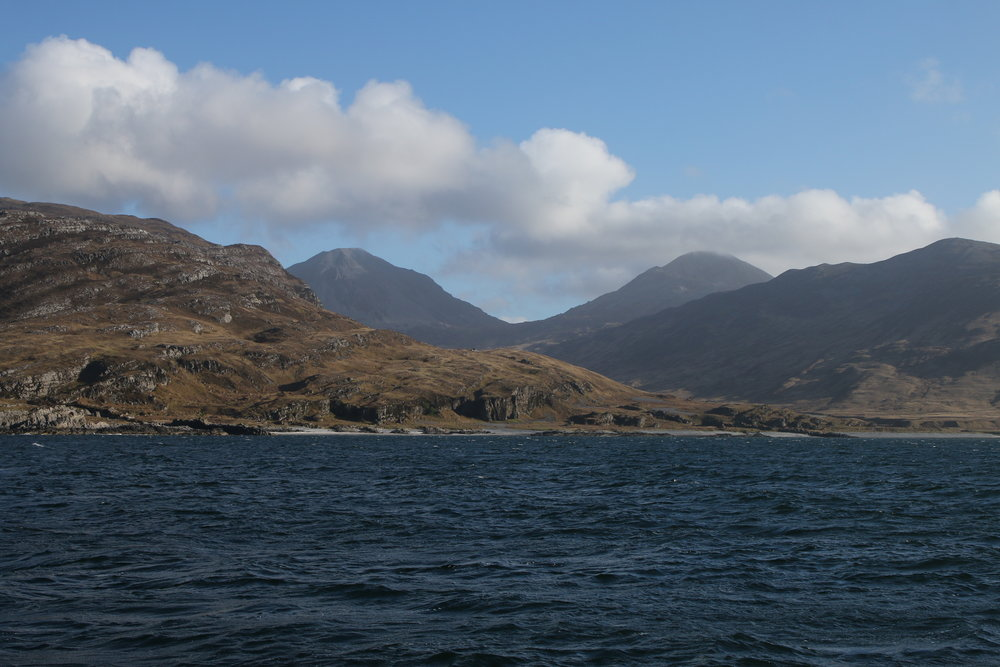 The beautiful island of Jura, one of the many amazing anchorages we stopped at during HWDT 3.