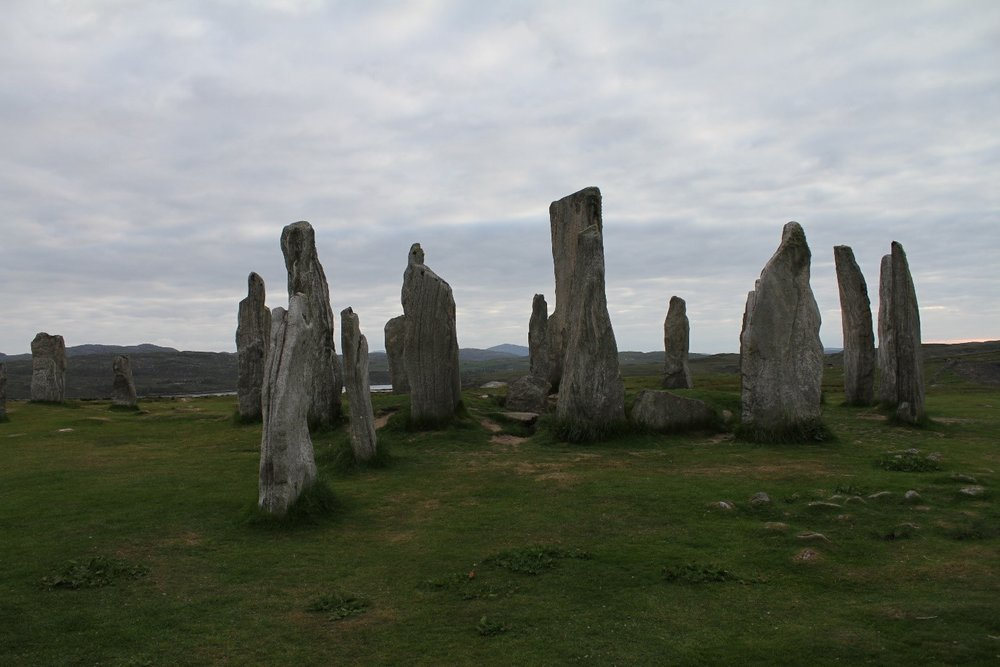 We even visited the Callanish stones, which are thought to have been erected over 5000 years ago!