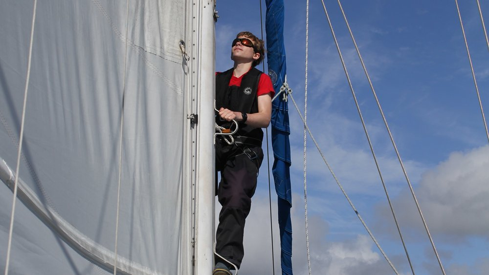 The teenagers will also help run Silurian, giving them a chance to develop skills such as sailing and navigation.