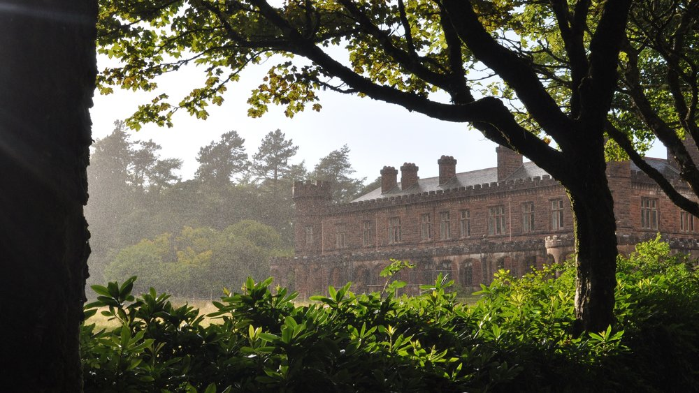 Kinloch Castle, expertly captured by one of the team - Moray.