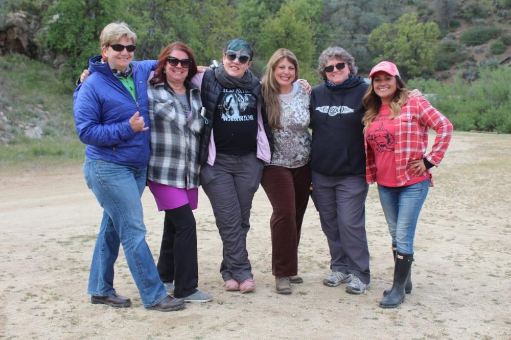 Our brave veteran warriors. Photo taken by Suzi Landolphi of Boulder Crest.