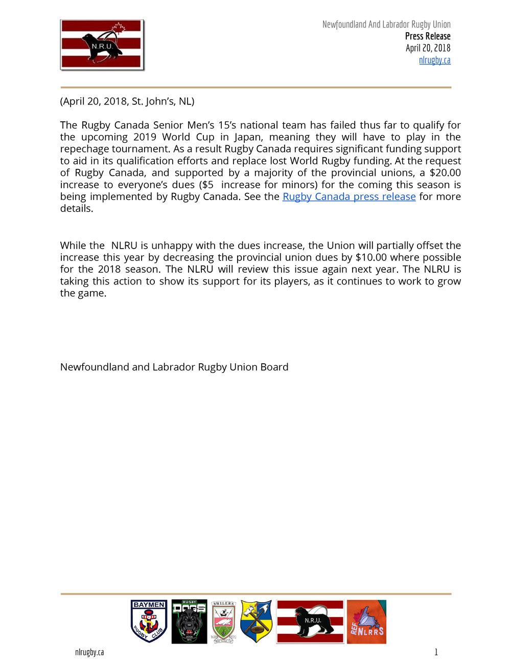 20180420 Fee increase  - NL Rugby Press Release.jpg