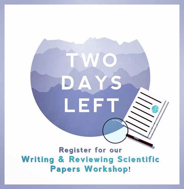 Hey guys! Join us for our workshop taking place on Nov. 14th, 7-8.30 p.m. (MNT207) and learn how to navigate the writing and reviewing processes of scientific papers with ease! Patrick D'Aoust, a Ph.d candidate in environmental engineering will be the guest speaker. Register today as spots are limited and admission is free!  See you there :) 📖