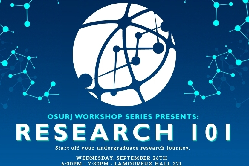 The OSURJ Workshop Series - Your ultimate guide to starting your undergraduate research experience and career.
