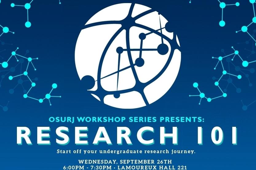 La Série D'ateliers de JRSUO - Votre guide ultime pour débuter votre expérience et carriere de recherche au premier cycle.