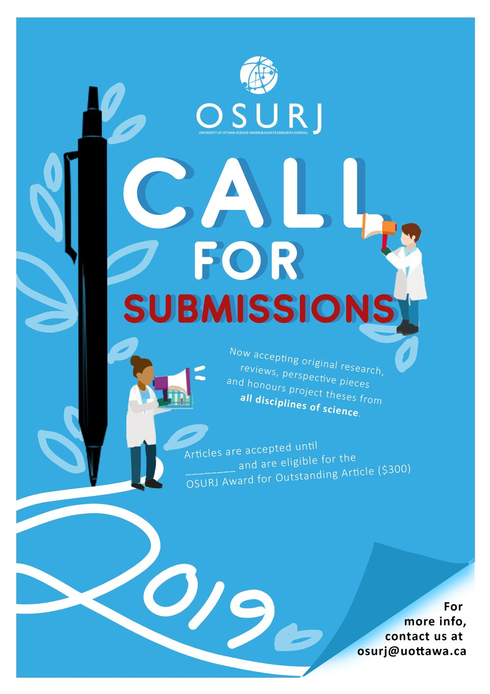 Now accepting submissions - Interested in getting published? We are now accepting submissions for the 2019 year. Click here for more info.