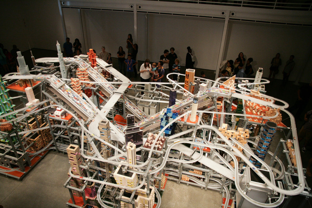 Chris Burden Metropolis II