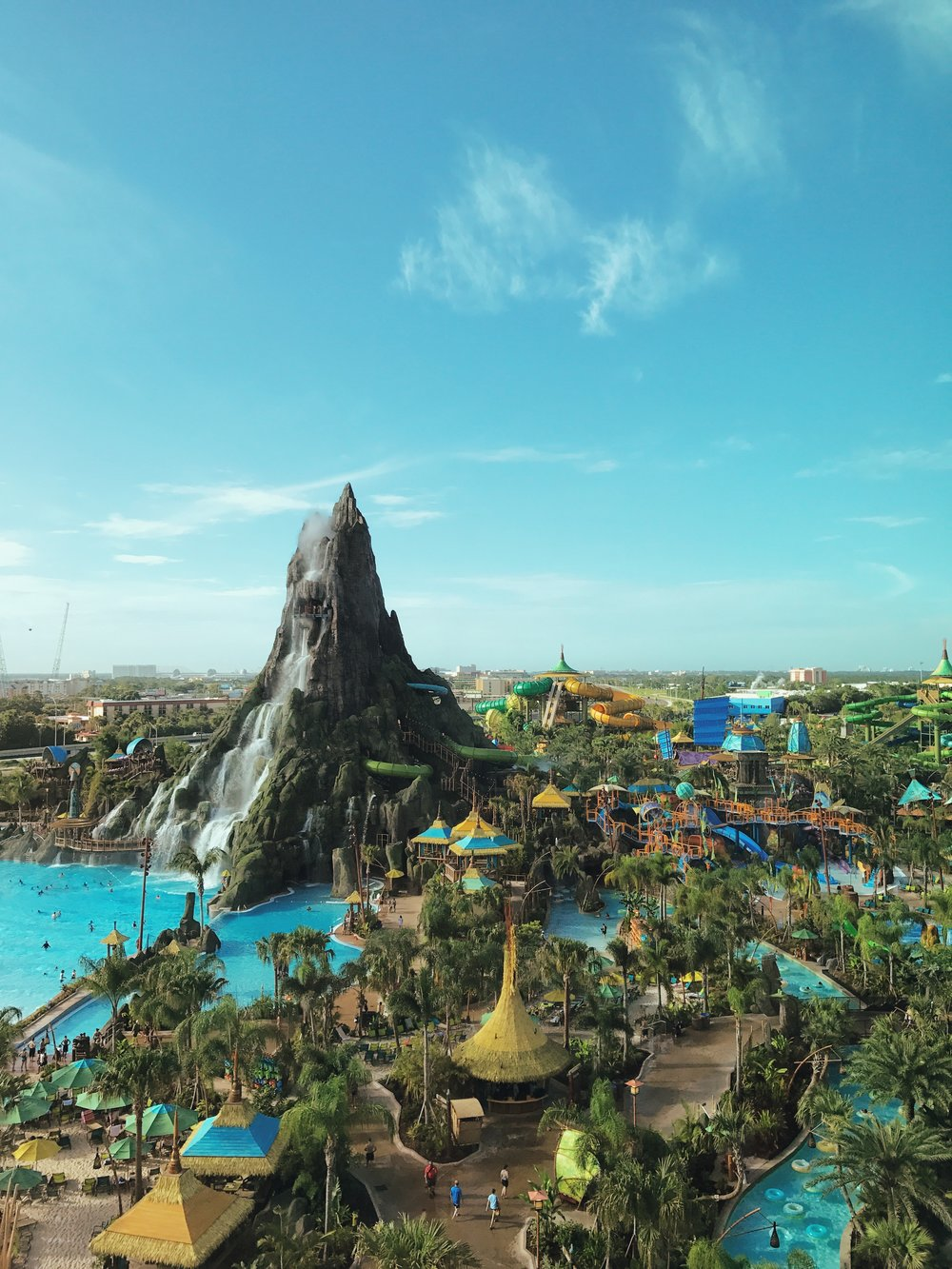 Volcano Bay. This is not a rendering.