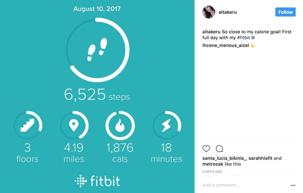 FitBit Charge 2 Statistics