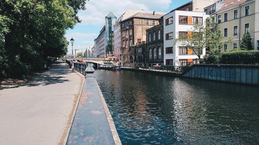 Berlin Street Canal Germany