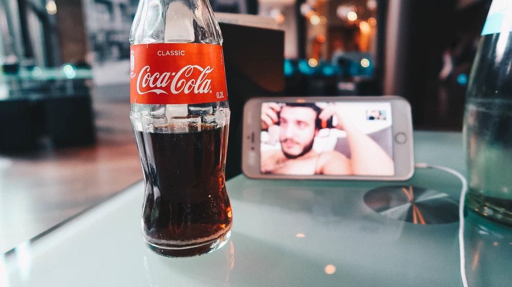 Boyfriend Skype Coke