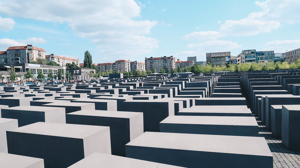 memorial to the murdered jews of europe holocaust berlin germany