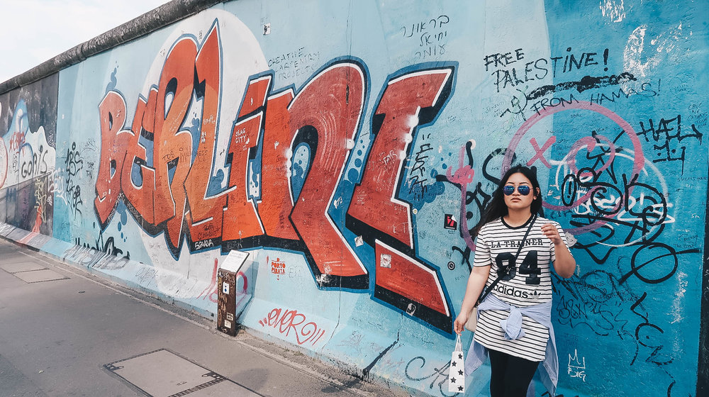 berlin wall germany misscamco ootd
