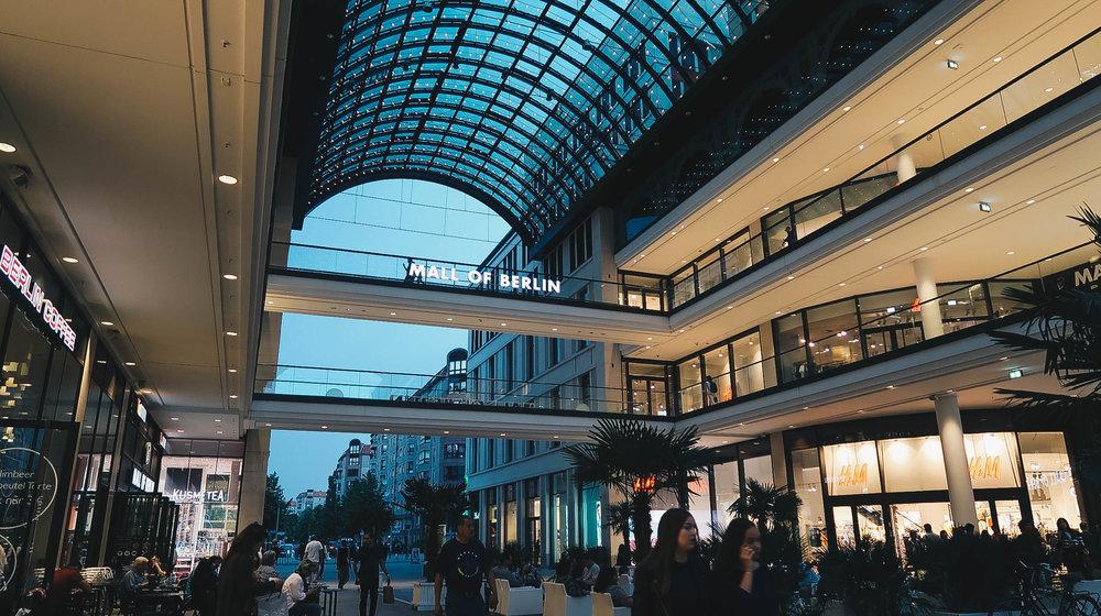 mall of berlin germany