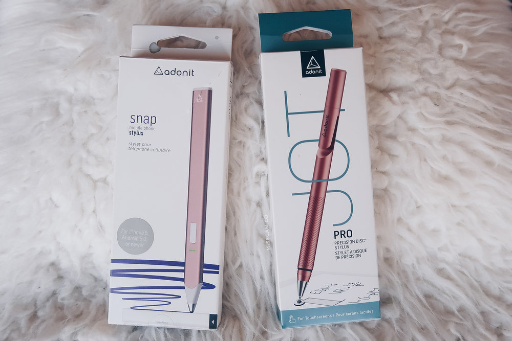 Adonit Jot Pro Snap Stylus MissCamco Blogger Review