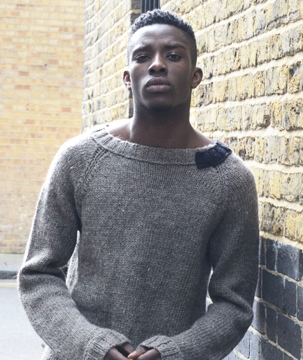brick sweater -