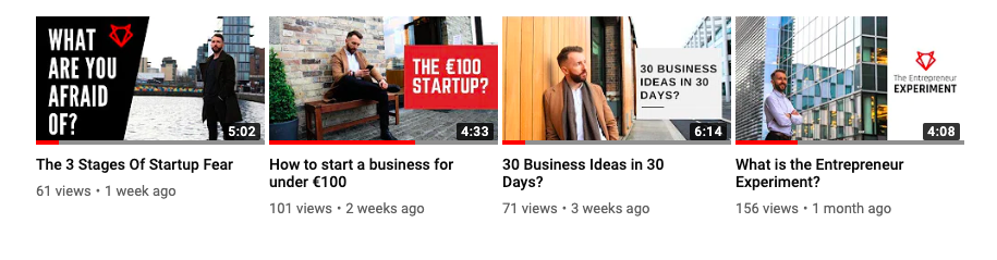 March Youtube Videos
