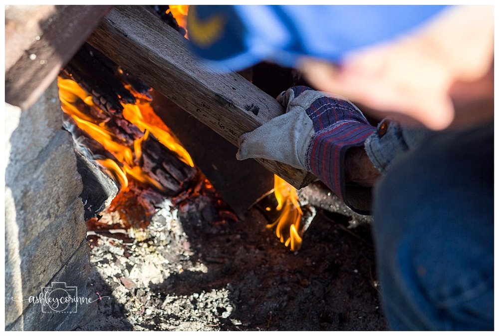 Stoking the Fire - A Florida Cane Grinding - Ashley Corinne Photography