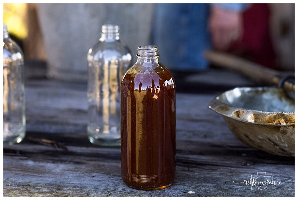 Bottling Syrup- A Florida Cane Grinding - Ashley Corinne Photography
