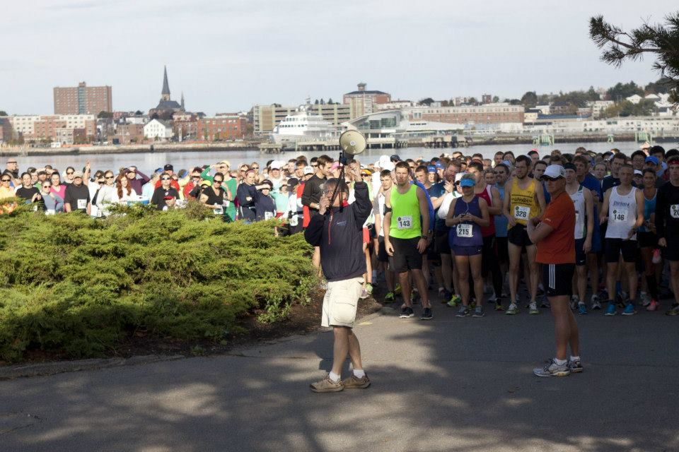 Every year, hundreds of people run in the Bug Light 5k along Spring Point Shoreway