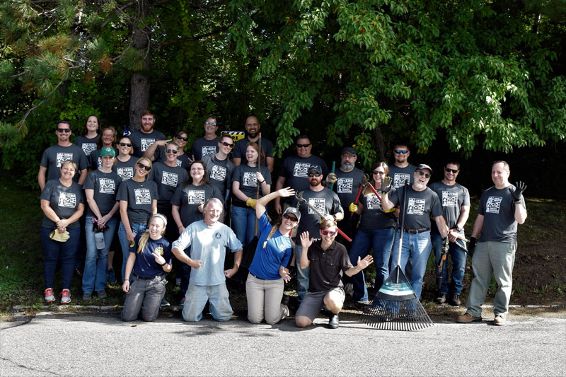 Home Depot Trail Work Day with Stantec