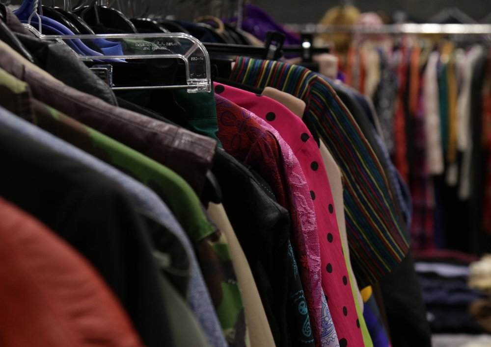 Movie Wardrobe Sale - The annual Movie Wardrobe Sale is open to the public, hosts over 30 vendors in one space, and is visited by over 2,000 people. This sale includes retailers, wholesalers, industry rental houses, vintage and contemporary fashion, and various film and television productions.