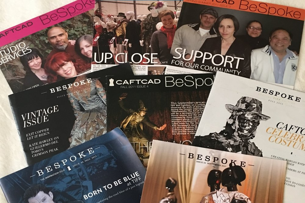 Bespoke - A published newsletter featuring current projects and biographies of our members, as well as important and relevant industry news. It is distributed to members and industry.