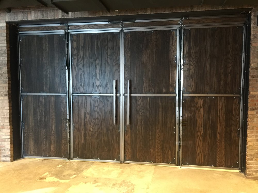 Double swing egress doors & Night club doors u2014 Russellbilt