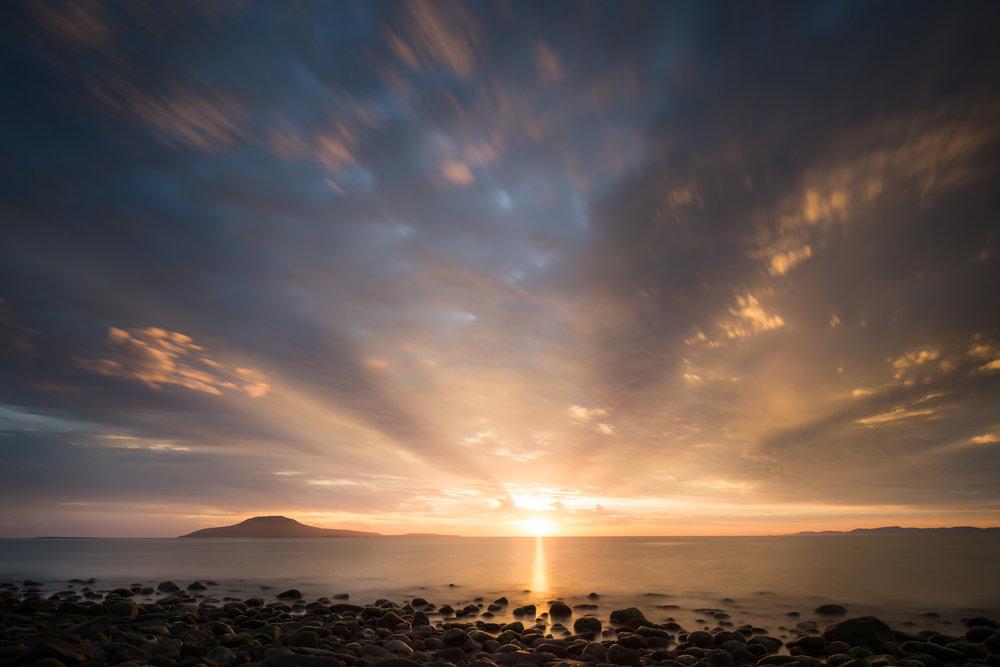 Gulf of California Sunrise from Beach.jpg